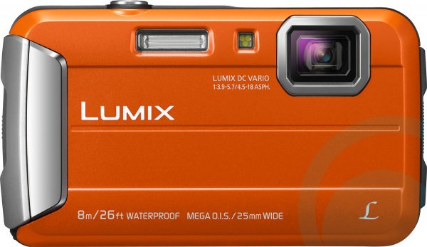 PANASONIC Lumix Ft30 16.1mp Orange DMC-FT30GN-D