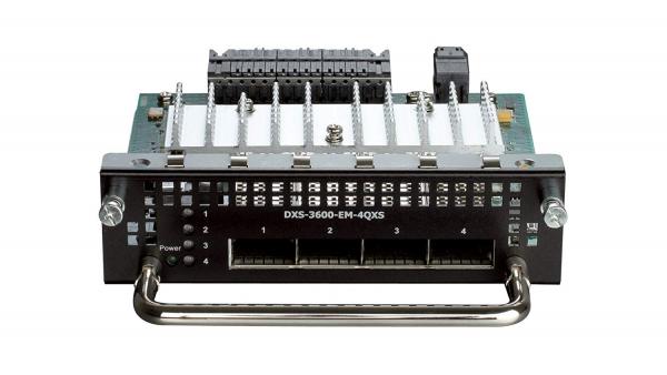 D-LINK 4-Port 40g Qsfp+ Module For (DXS-3600-EM-4QXS)