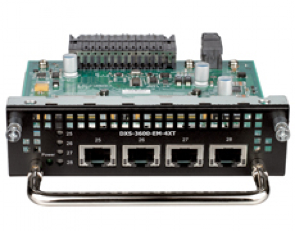D-LINK 4-Port 10Gbase-T Module For (DXS-3600-EM-4XT)