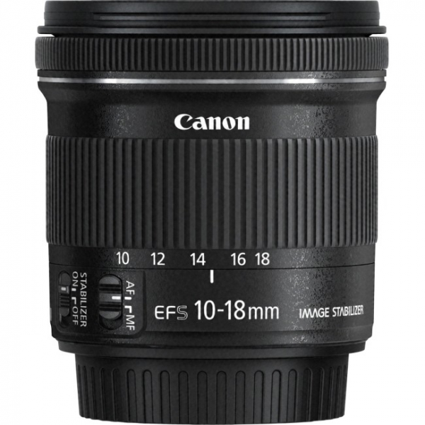 CANON EFS10-18ISST Ef-s10-18mm F/4.5-5.6 Is Stm