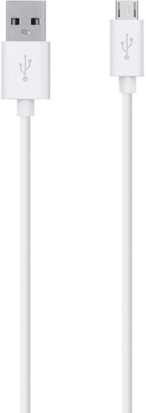 Belkin Micro USB-Charge - Sync Cable 1.2m White (F2CU012BT04-WHT)