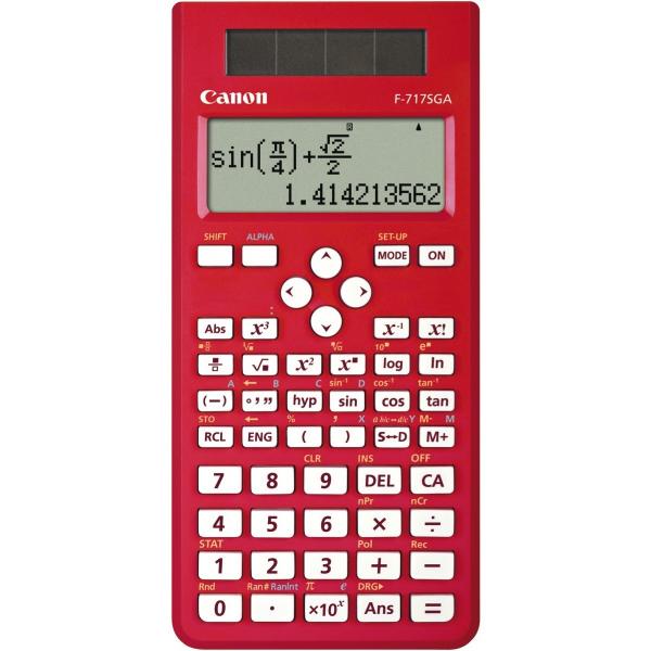 CANON Red 242 Function Scientific Calculator F717SGAR