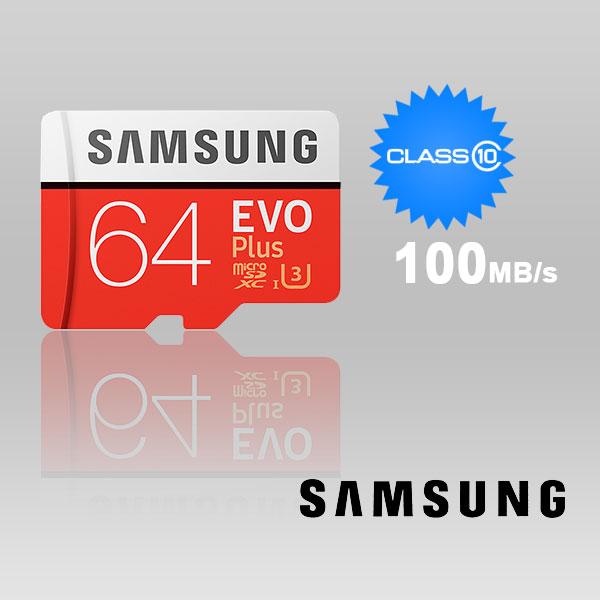 SAMSUNG 64gb Uhs-i Plus Evo Class 10 U3 4k FFCSAM64GTFMC100G-1