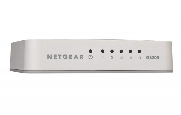 NETGEAR Gs205 5-port Gigabit Unmanaged GS205-100AUS