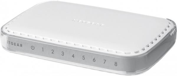 NETGEAR Gs608 8port Gigabit Desktop Switch GS608AU