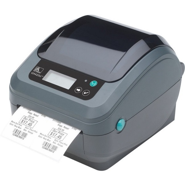 ZEBRA Gx420d 4in Desktop Direct Thermal Printer GX42-2025P2-000