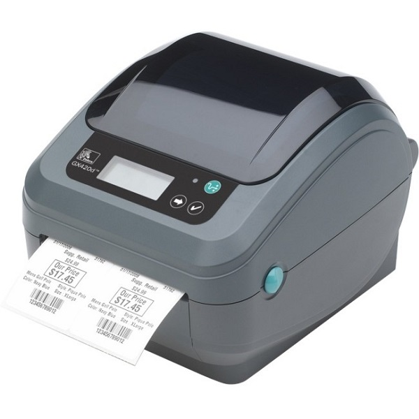 ZEBRA Gx420d 4in Desktop Direct Thermal Printer GX42-2028P1-000