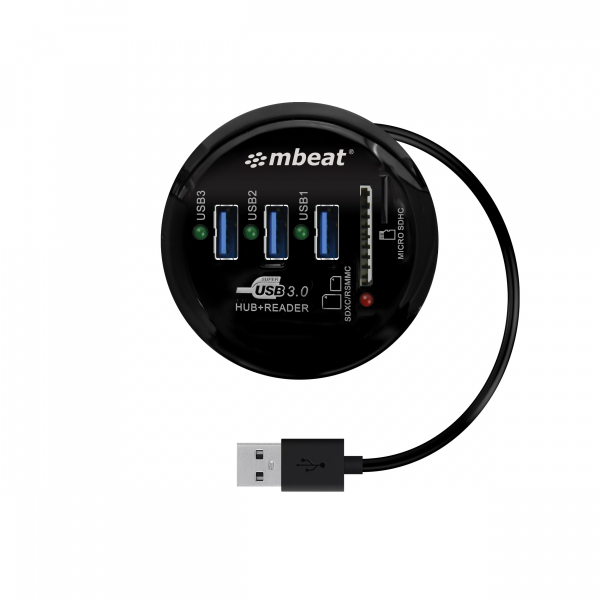 MBEAT &174 Usb 3.0 And 3.0 Card Reader With HCR518