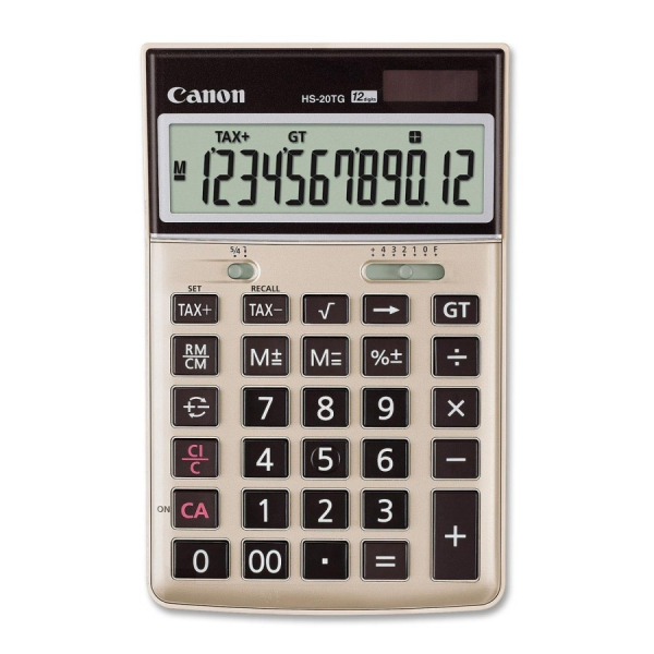 CANON 12 Digit Dual Power Tax Function 80 HS20TG