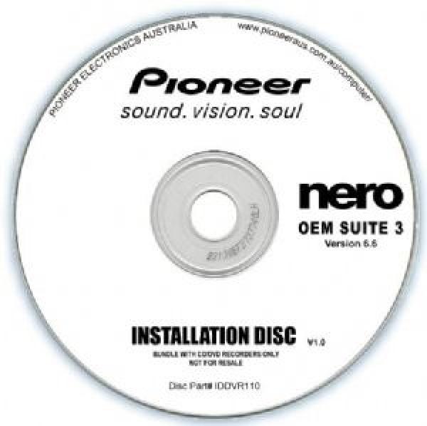 PIONEER Software Cyberlink Suite 10 Oem Play IDDVR110
