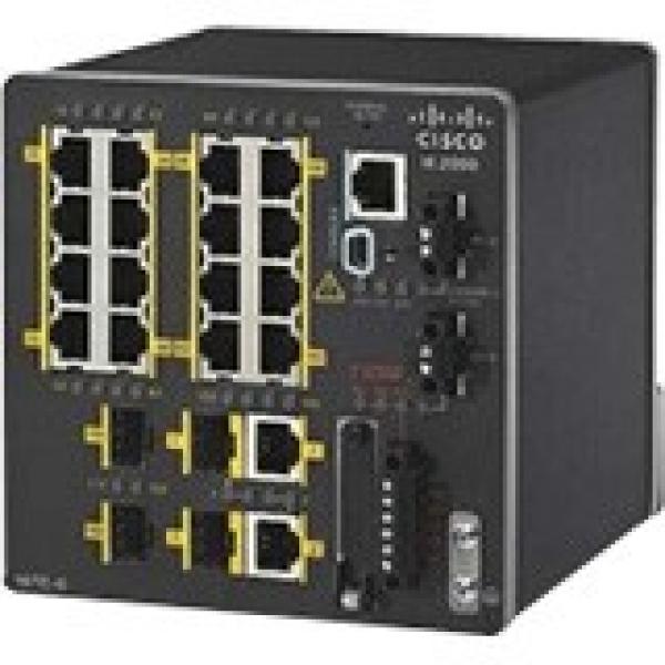 CISCO Ie 16 10/1002 Fe Sfp+2 T/sfp Fe IE-2000-16TC-L
