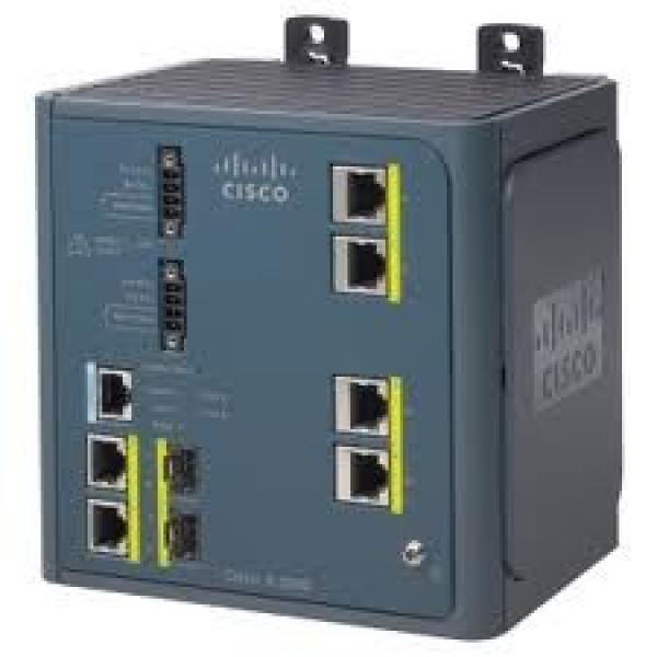 CISCO Ie 3000 4-port Base Switch W/ Layer 3 IE-3000-4TC-E
