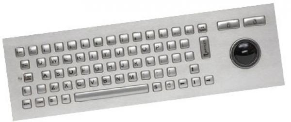 CHERRY Vandal Proof Keyboard. Stainless Steel. J86-4400LUAUS