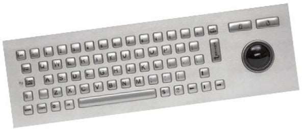 CHERRY Vandal Proof Keyboard. Stainless Steel. J86-4400LUAUS