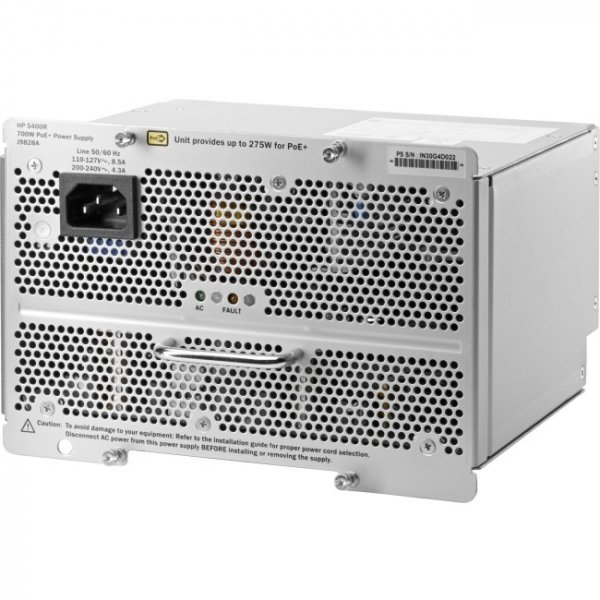 HP 5400r 700w Poe+ Zl2 Power J9828A