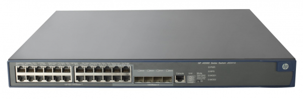 HPE HP 5500-24g-poe+ Ei Switch & 2x Interface JG241A