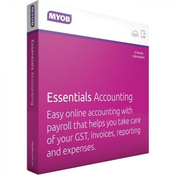 MYOB (ESD) Myob Essentials Accounting For LVPAY-FUL-AU