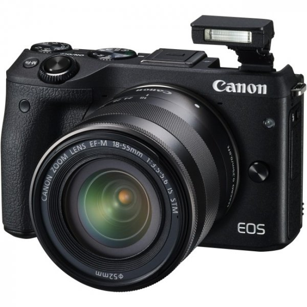 CANON Eos M3 Black With Ef-m 18-55isstm M3KISB