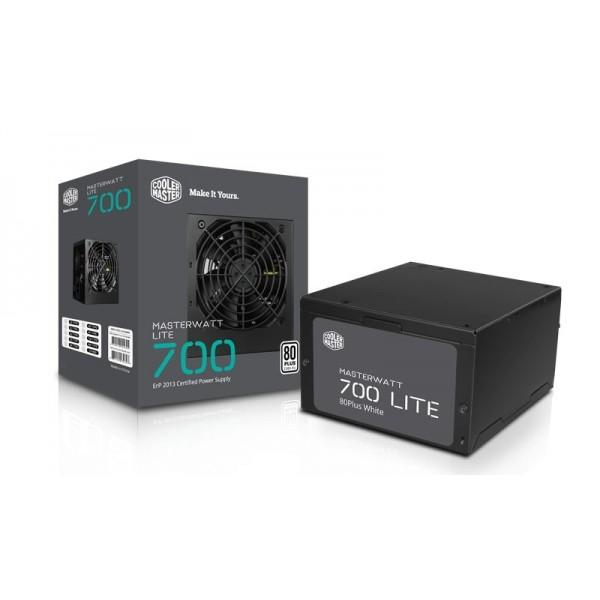 Cooler master Masterwatt Lite 700w 80 Plus Power Supply