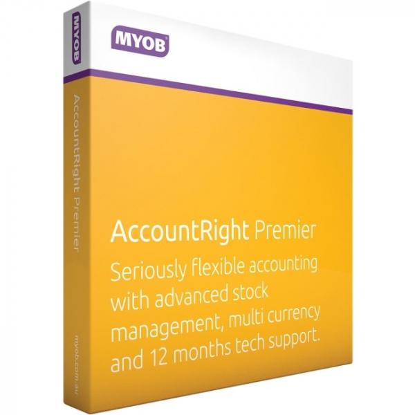 MYOB Accountright Premier MU19-RET-AU