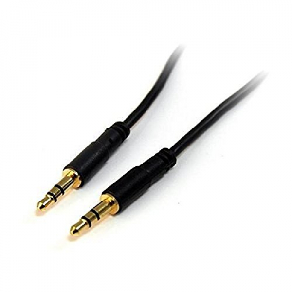 Startech 6ft Slim 3.5 Stereo Audio Cable - M/M 3.5mm Cable (MU6MMS)