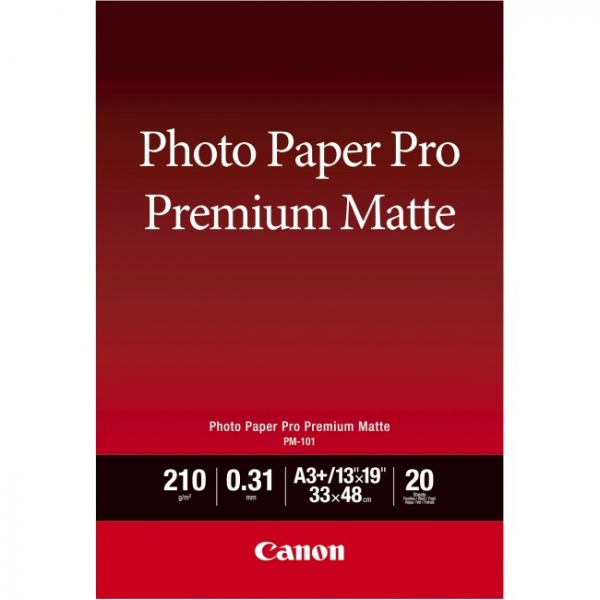 CANON Pm-101 A4 20 Sheets 210gsm Photo Paper PM101A4