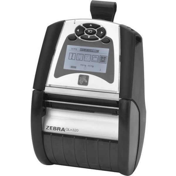 ZEBRA Qln320 3in Mobile Direct Thermal Printer QN3-AUNAAM00-00