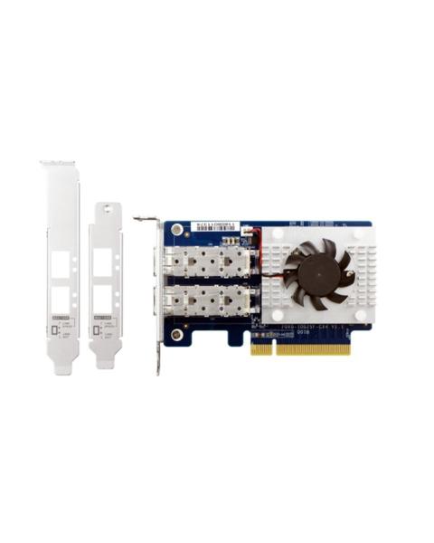 Qnap Dual-Port SFP28 25GBE Network Expansion Card NAS Accessories (QXG-25G2SF-CX4)