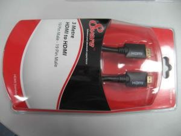 8WARE High Speed Hdmi Cable Male To Male 3m In RC-HDMI-3H