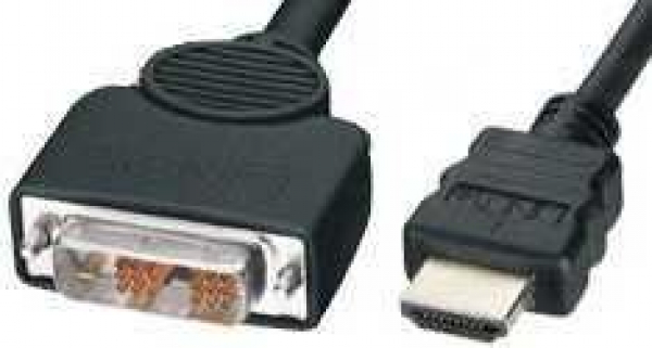 8WARE High Speed Hdmi To Dvi-d Cable M/m Black RC-HDMIDVI-2