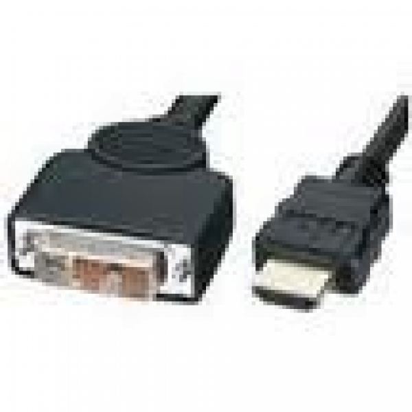 8WARE High Speed Hdmi To Dvi-d Cable M/m Black RC-HDMIDVI-3