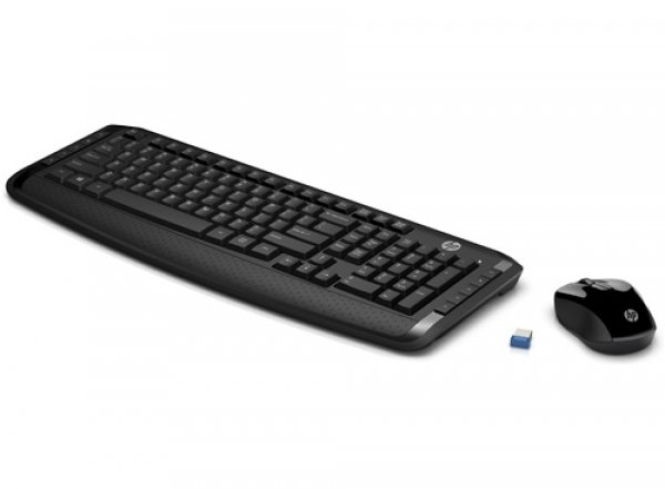 Hp Wireless Keyboard And Mouse 300 ( 3ml04aa )