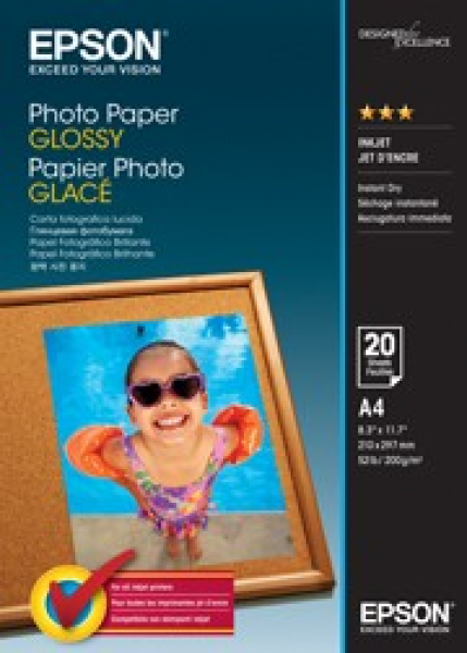 EPSON Photo Paper Glossy A4 20 S042538