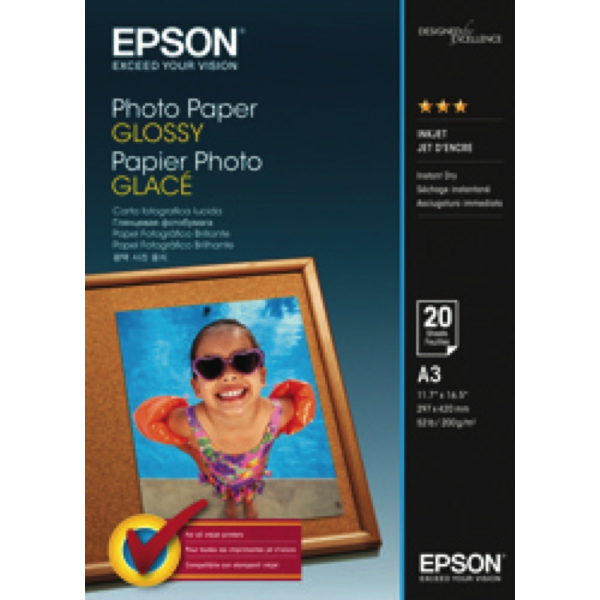 EPSON Photo Paper Glossy 4x6 50 S042547
