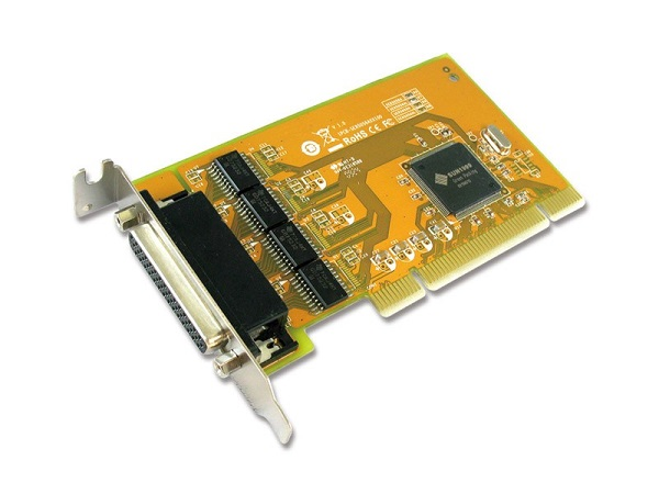 SUNIX Pci 4-port Serial Rs-232 Card - Low SER5056AL