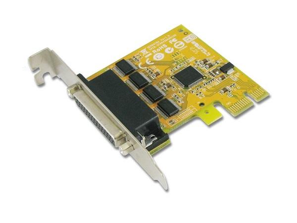 SUNIX Pcie 4-port Serial Rs-232 Card - Low SER6456AL