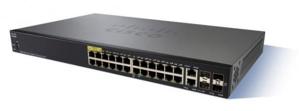 CISCO Sg350-28p 28-port Gigabit Poe Managed SG350-28P-K9-AU