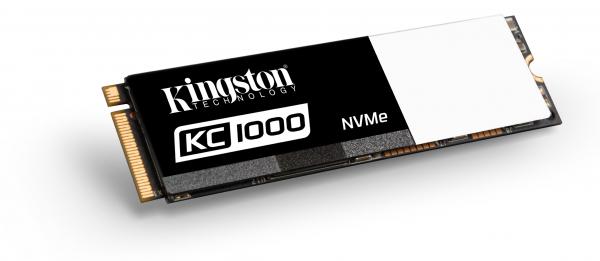 Kingston 480GB KC1000 Nvme Pcie SSD Drives (SKC1000/480G)