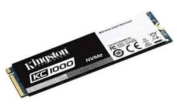 Kingston 960GB KC1000 Nvme Pcie SSD Drives (SKC1000/960G)