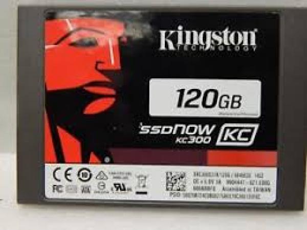 Kingston 120GB SSDNOW KC300 SSD SATA 3 2.5 (SKC300S37A/120G)