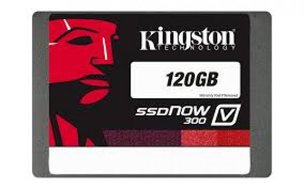 Kingston 120GB SSDNOW KC300 SSD SATA 3 Bundle Kit (SKC300S3B7A/120G)