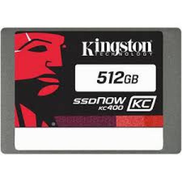 Kingston 512GB SSDNOW KC400 SATA 3 2.5 SSD Drives (SKC400S3B7A/512G)