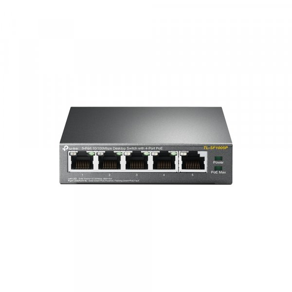 TP-LINK 5-port 10/100mbps Desktop Switch With TL-SF1005P