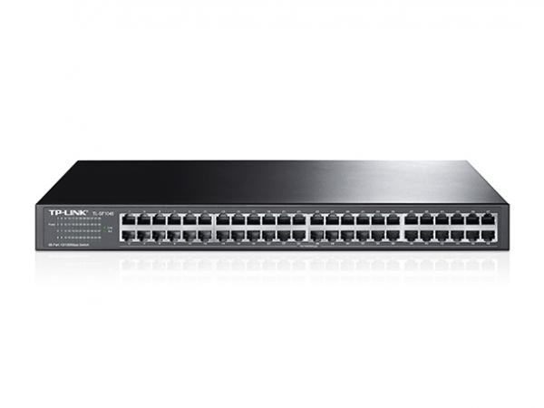 TP-LINK 48 Port 10/100m Switch Metal 19 TL-SF1048