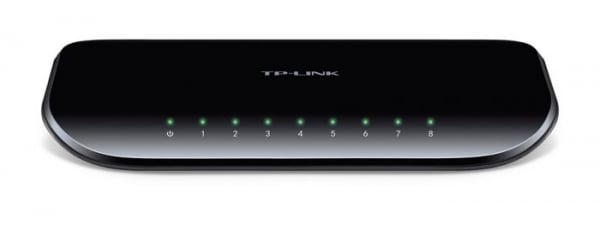 TP-LINK 8 Port Gigabit Switch (10/100/1000) TL-SG1008D