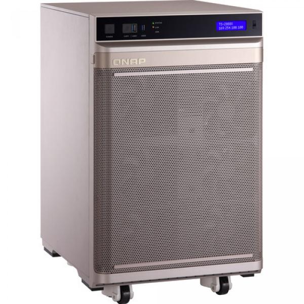 Qnap Intel® Xeon® W-2145 8-core 3.7 GHz Processor (burst up to 4.5 GHz) Network Storage (TS-2888X-W2145-128G)