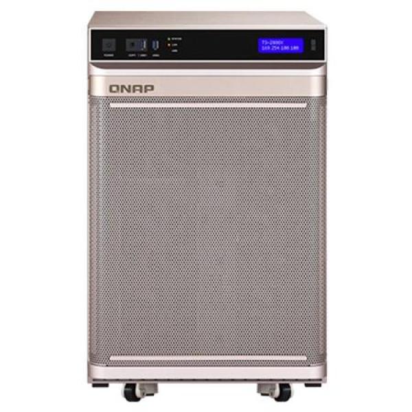Qnap Intel® Xeon® W-2145 8-core 3.7 GHz Processor (burst up to 4.5 GHz) Network Storage (TS-2888X-W2145-512G)