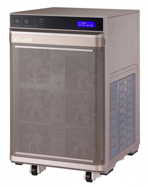 Qnap Intel Xeon W-2195 18-core 2.3 GHz Processor (burst up to 4.3 GHz) Network Storage (TS-2888X-W2195-256G)