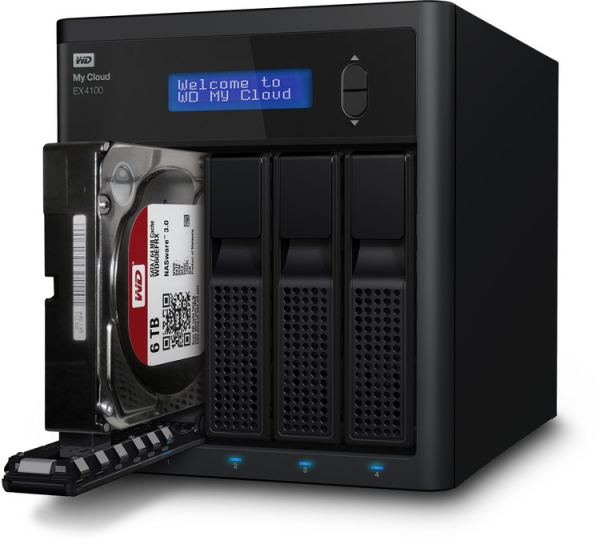 WESTERN DIGITAL My Cloud Ex4100 Expert Series 4 WDBWZE0080KBK-SESN