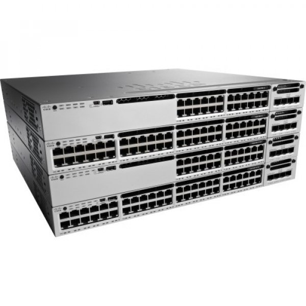 CISCO Catalyst 3850 48 Port (12 Mgig+36 Gig) WS-C3850-12X48U-L